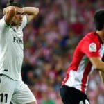 Real Madrid ilk kez takıldı