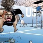 Serena Williams karikatürüne 'ırkçılık' suçlaması