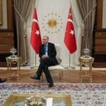 Erdoğan, dev bankanın başkanıyla görüştü