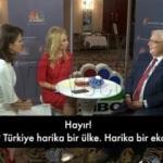 Provokatif 'Türkiye' sorusuna tokat gibi yanıt