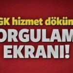 SGK/SSK Prim Sorgulama (2018)! Hizmet Dökümü Alma Ekranı! - 4A 4B 4C