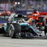 Singapur'da kazanan Hamilton farkı açtı!