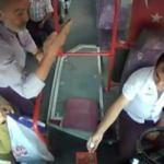Tepki gösterdiği otobüs şoförü hayatını kurtardı