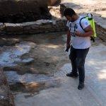 Nysa Antik Kenti'nde taban mozaiği bulundu