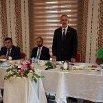 Ak Parti milletvekilleri basın mensuplarıyla buluştu
