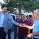 Burdur'da aşure dağıtımı