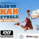 Esenler'de Sokak Basketbolu Heyecanı Başlıyor