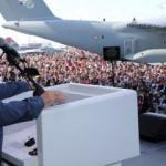 Erdoğan'dan sert dolar mesajı: Takkeleri değişiriz