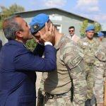 Tunceli'den İdlib'e giden askerler dualarla uğurlandı