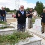 Sivassporlu taraftarlar mezarları başında anıldı