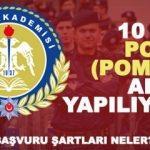 KPSS puanı ile 10 bin Polis alımı sona eriyor! 2018 POMEM başvuru ekranı!