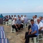 Hatay'da mahalle sakinleri yağmur duasına çıktı