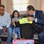 Emniyet Müdüründen şehit kızına polis üniforması