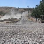 Kulp'ta belediyeden asfalt çalışması