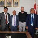 Başkan Özkan'dan MHP'ye ziyaret
