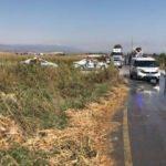 Bakan'ın annesi ve dayısı kaza geçirdi