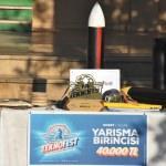 TEKNOFEST Roket Yarışması şampiyonlarına coşkulu karşılama