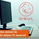 GİBUX işletim sistemi ile kamuda