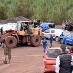 Maden işçisi kadının feci ölümü