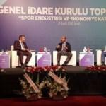Sporun ekonomiye katkısı MÜSİAD'da ele alındı