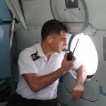 Bursa'da helikopterli trafik denetimi