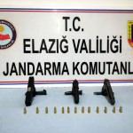 Elazığ'da kaçak silah operasyonu