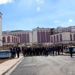Sivas'taki 10 bin kişilik yurt binası