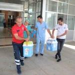 Şehit polisin organları bağışlandı