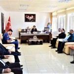 Seydişehir'de KPSS güvenlik toplantısı yapıldı