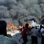 Azez'de korkunç patlama: Ölü ve yaralılar var!