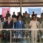 Gurur verici tablo! Türk komutanlar bizzat katıldı