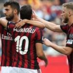 Hakan Çalhanoğlu girdi Milan kazandı!