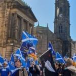 İskoçlar sokaklarda: Bağımsızlık! Hemen şimdi!