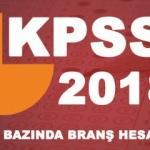KPSS branş sıralaması nasıl hesaplanır? 2018 ÖSYM lisans bazında branş öğrenme..