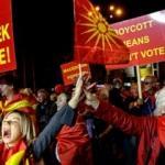Makedonya'da referandum: Kimliklerini korudular!