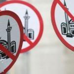 Hollanda'da İslamofobi: Cami önünde eylem!