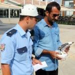 Aydın'da uçangöz destekli trafik denetimi