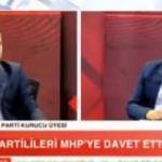 Canlı yayında istifa edip MHP'ye geçti