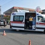 Turgutlu'da trafik kazası: 3 yaralı