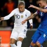 Fransa 4 dakikada beraberliği kurtardı