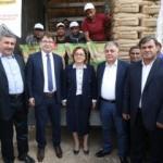 Gaziantep Büyükşehir Belediyesi tohum dağıttı