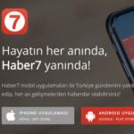 Haber7 mobil uygulaması güncellendi!