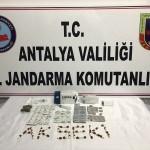 Antalya'da uyuşturucuyla mücadele