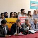 Kayseri'de sağlık çalışanlarına saldırı protesto edildi