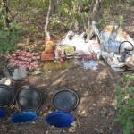 Bingöl'de 340 kilogram el yapımı patlayıcı ele geçirildi