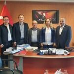 MÜSİAD Zonguldak Şubesi yönetiminden ziyaret