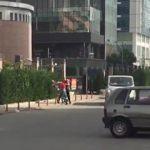 CHP'lilerden grev yapan adama meydan dayağı!