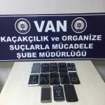 Van'da cep telefonu kaçakçılığı