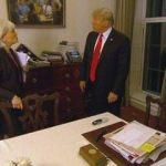 Oval Ofis'teki tablo Amerika'yı karıştırdı