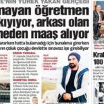 Sözcü Gazetesin'den atanamayan öğretmen skandalı!